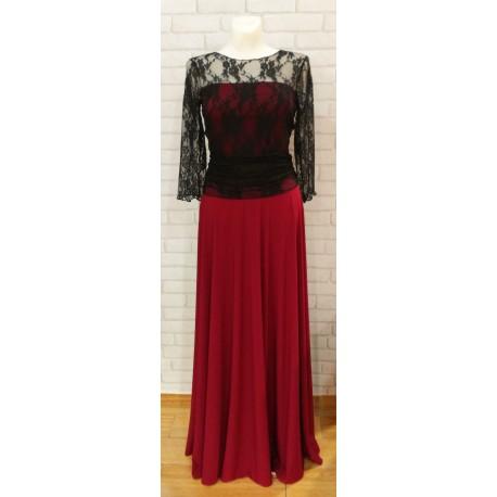 Vestido Frida Lace Long