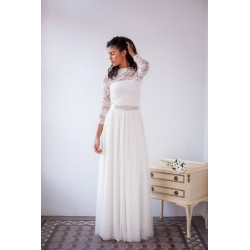 Vestido Frida Manga Lace Straps