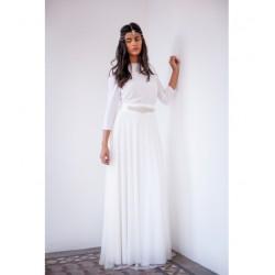 Vestido Novia Frida Falda Tul